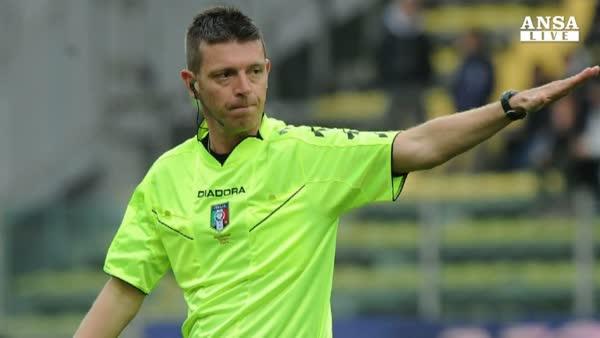 Serie A, Rocchi ricomincia da Torino