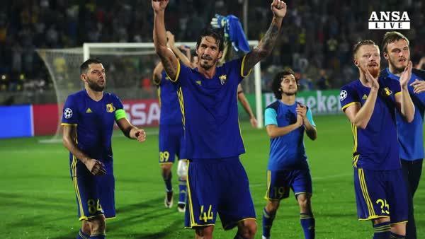 Europa League, stasera Sassuolo a Belgrado
