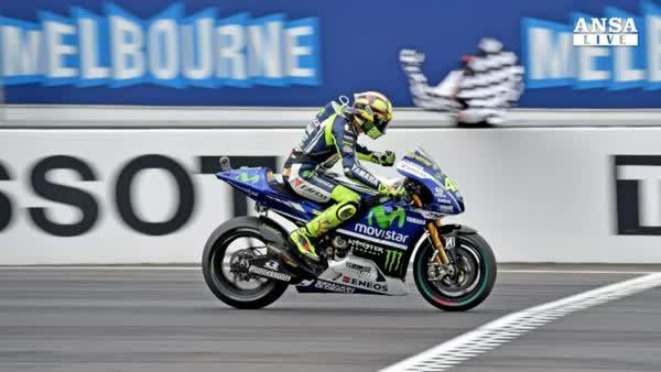 Valentino Rossi trionfa in Australia