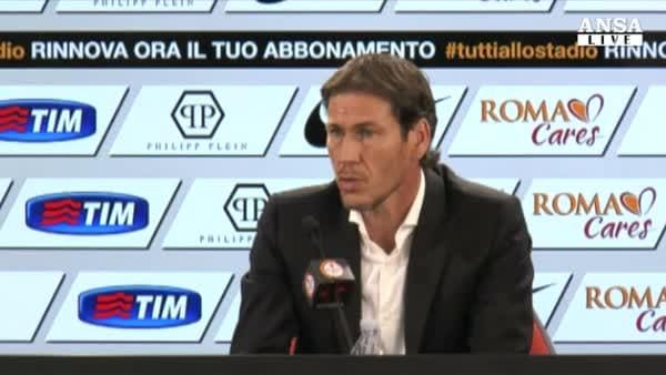 Garcia: la Roma vincera' lo scudetto