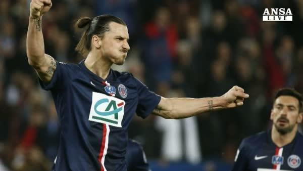Ibrahimovic:  Sono felice al Psg