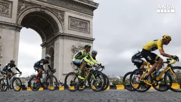 Tour: Froome vince per la 2a volta
