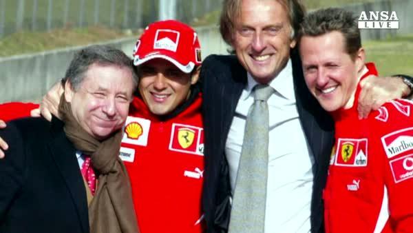 Montezemolo con Ferrari in Hall of fame
