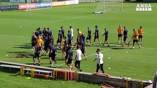 La Roma si prepara per il Porto