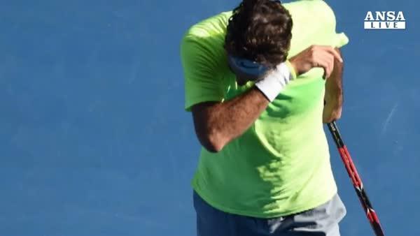 Open Australia: Seppi elimina Federer