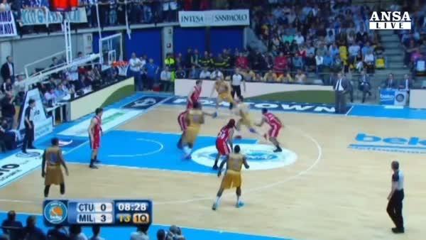 Basket: Cantu' vince il derby contro Olimpia
