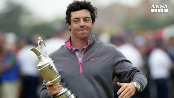 Golf, McIlroy vince il British Open