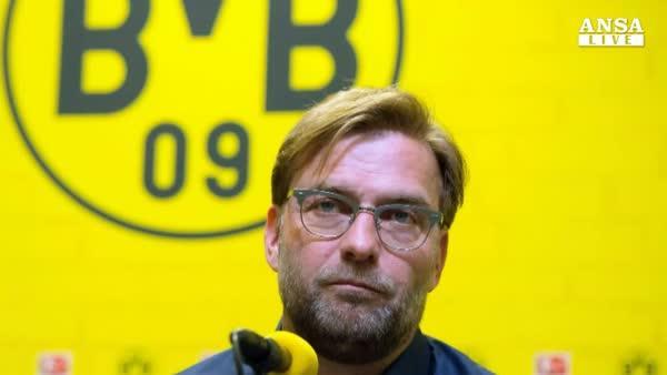 Klopp lascera' il Borussia Dortmund