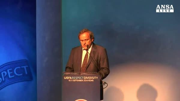 Platini rieletto presidente Uefa