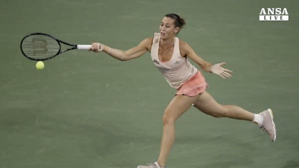 Tennis: Sofia, Pennetta parte bene