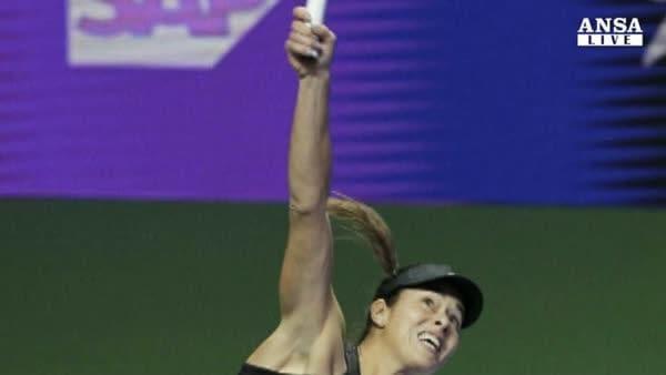Tennis: Wta, sale Halep,giu' Kvitova
