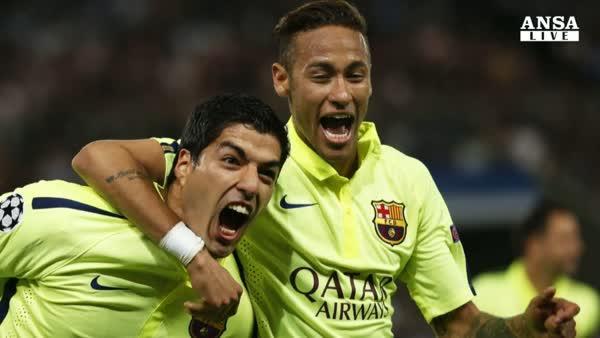 Champions, Barca show a Parigi