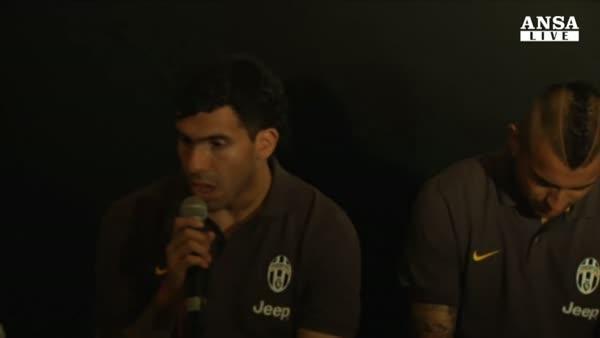 La Juventus riparte da Tevez-robot