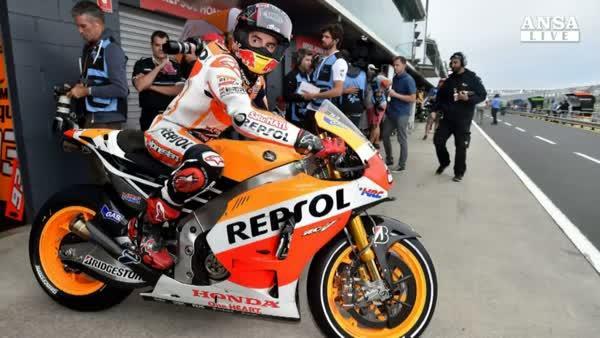 MotoGp: in Autralia pole di Marquez