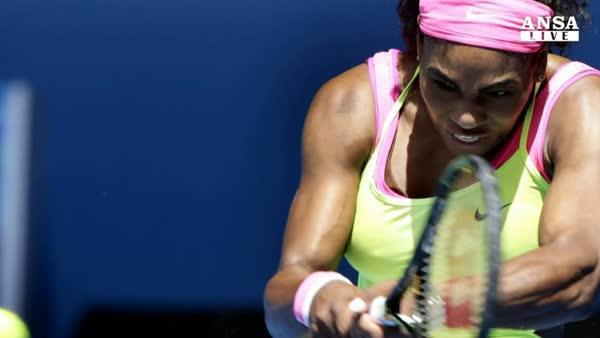 Tennis: Australia,avanti S.Williams